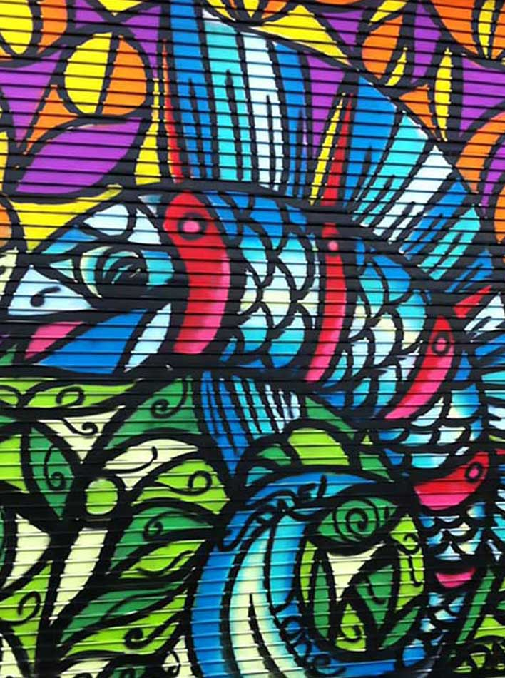 Kohn Commercial Real Estate - Homepage Image of Fish Art